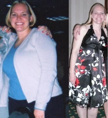 Before and After weight loss program!