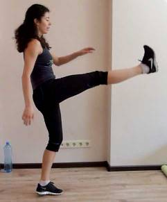 abs-workot-lunge-leg-raise2